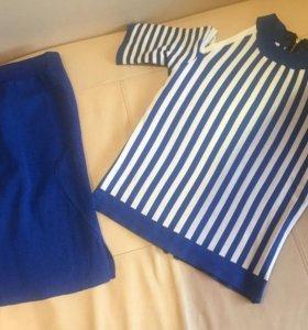 Новые костюмы (юбка+блузка)