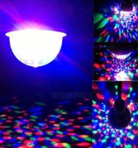 Лампа Цветомузыка (стандартный цоколь)