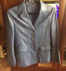 Пиджак кожаный (кожа мягкая)