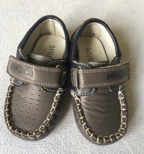 Детские туфли микасса