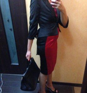 Комплект новый- платье , пиджак