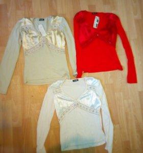 3 блузки S размер
