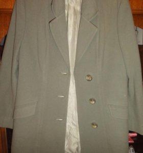 Пиджак из драпа