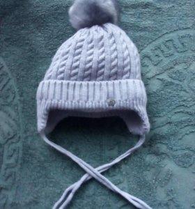 Детская Зимняя шапка .Мой ребёнок один раз одел