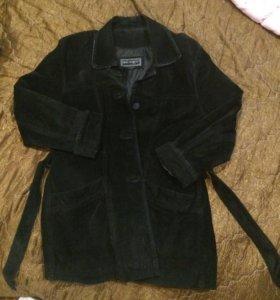 Куртка женская замшевая
