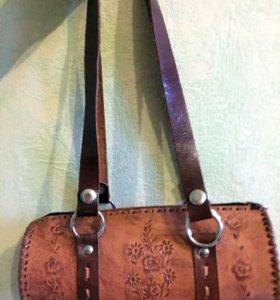 Новая сумка ( натуральная кожа)