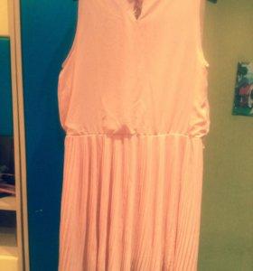 Платье плиссированное в стиле ретро👗👠