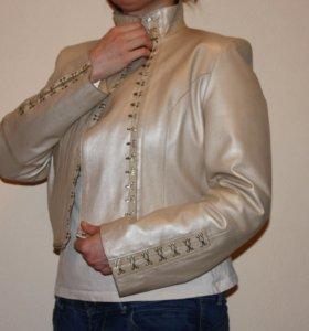 2 в 1 Пальто-куртка натур. кожа