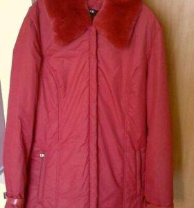 демисезонная куртка48-50;