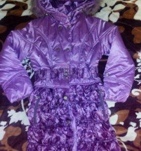 Куртки на девочку 8-9 лет