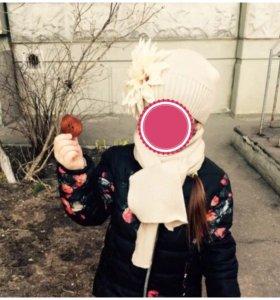 Красивый набор (шапка+шарф)