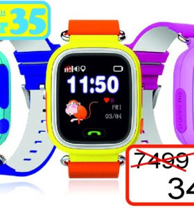 Детские смарт-часы-телефон с GPS swc-02