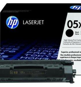 Лазерный картридж HP LJ CE505X оригинальный