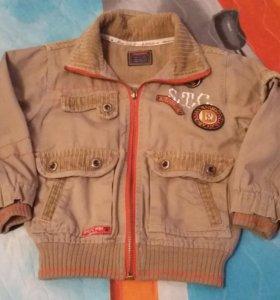 Курточка детская рост  от 96до 104
