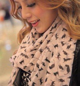 Новые различные шарфики