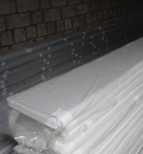 Панели пвх белые 25см*3м