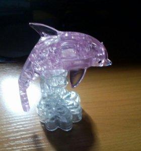 3d статуэтка дельфина есть и другие персонажи