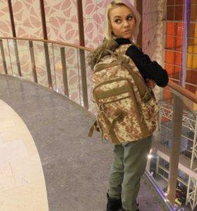 Новый камуфляжный рюкзак с бесплатной доставкой