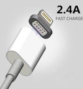 USB Дата-кабель 2.4A с магнитным коннектором