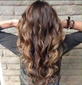 Наращивание волос !!!!