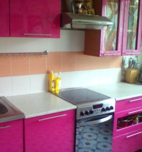 Кухонный гарнитур (крашенный мдф)