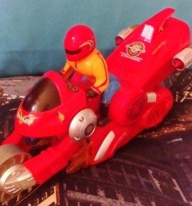 Робот мотоцикл музыкальный или обмен