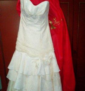 Свадебное платье 44-48