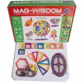 Магнитный конструктор Mag Wisdom 71