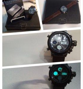 Мужской набор! Часы AmsT + нож-кредитка