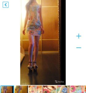 Valentino 👑новое платье с цветами