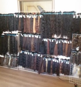 Волос вычесаный натуральный