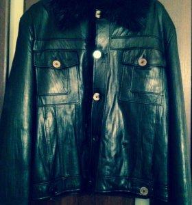 Куртка -дубленка(пилот)