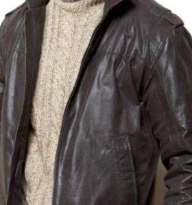 Куртка мужская из натуральной кожи