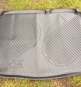 Citroen C4 коврик багажника