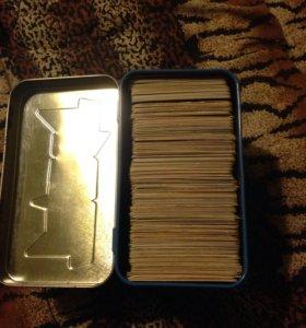 """набор карточек """"Черепашки ниндзя"""""""