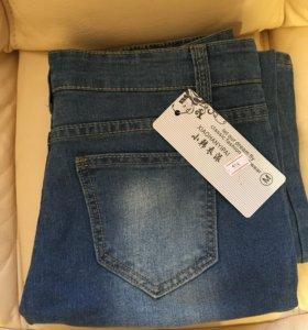 Новые джинсы размер M
