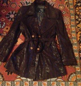 Куртка Плащь кожа