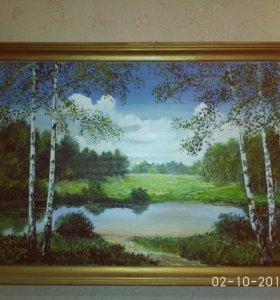 Картина ,масляной краской