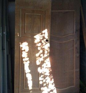Дверное полотно, шпон б/у