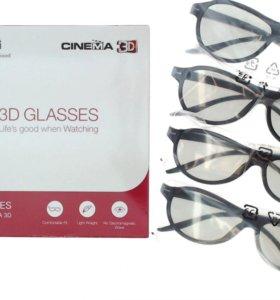 3d очки(4шт)
