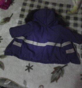 Зимний комбинезон и зимняя куртка
