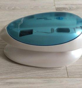 УФ-лампа + набор для маникюра/педикюра