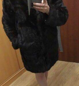 Норковая шуба для модницы