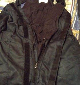 зимние брюки комбинезон ватные