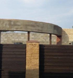Продается строящийся дом в Успенском.