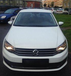 Аренда автомобиля на свадьбу  VW Polo 2016