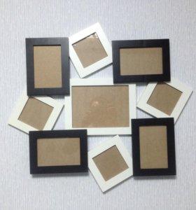 Комбинированная рамка для фото