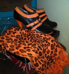 Ботинки и шарфик к ним