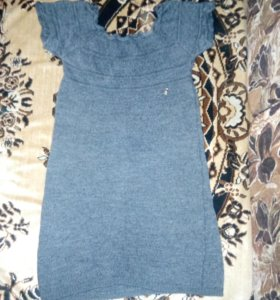 Платье тёплое 140