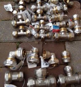 Фитинги металлопластиковых труб